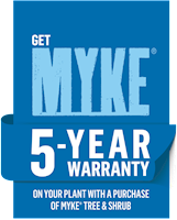 MYKE 5-YEAR WARRANTY